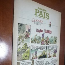 Comics : EL PEQUEÑO PAÍS 355 SUPLEMENTO DE COMICS DE EL PAIS. GRAPA. BUEN ESTADO.. Lote 198762083