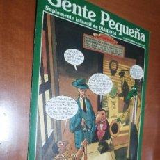 Cómics: GENTE PEQUEÑA 37. SUPLEMENTO INFANTIL DE DIARIO 16. GRAPA. BUEN ESTADO. . Lote 198775868