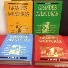 Fumetti: LOTE DE 4 TOMOS GRANDES AVENTURAS, DEL PERIODICO. Lote 201235797