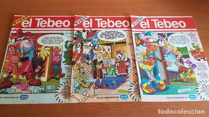 Cómics: EL TEBEO - EDITADO POR EL PERIÓDICO - AÑO 1991 / NUMS . 1 AL 9 / NUEVOS Y PERFECTOS. - Foto 2 - 201600770