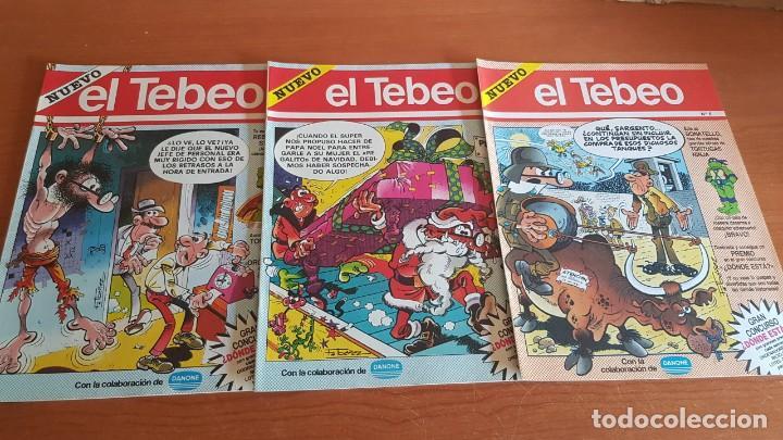 Cómics: EL TEBEO - EDITADO POR EL PERIÓDICO - AÑO 1991 / NUMS . 1 AL 9 / NUEVOS Y PERFECTOS. - Foto 3 - 201600770