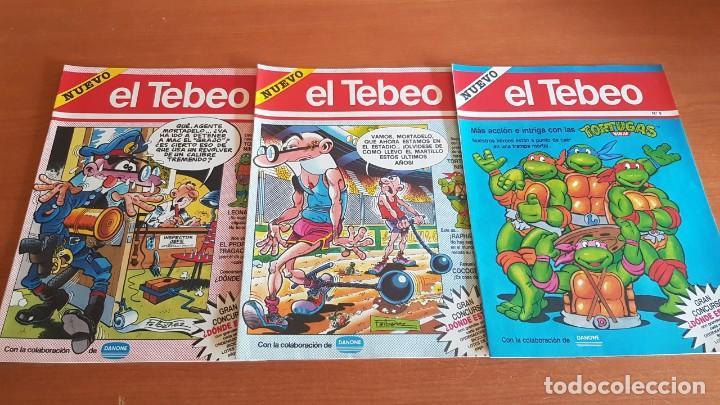 Cómics: EL TEBEO - EDITADO POR EL PERIÓDICO - AÑO 1991 / NUMS . 1 AL 9 / NUEVOS Y PERFECTOS. - Foto 4 - 201600770