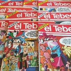 Cómics: EL TEBEO - EDITADO POR EL PERIÓDICO - AÑO 1991 / NUMS . 1 AL 9 / NUEVOS Y PERFECTOS.. Lote 201600770