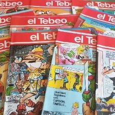 Cómics: EL TEBEO - EDITADO POR EL PERIÓDICO - AÑO 1991 / NUMS . 20 AL 29 / NUEVOS Y PERFECTOS.. Lote 201601920