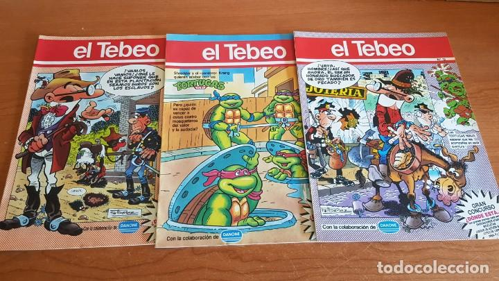 Cómics: EL TEBEO - EDITADO POR EL PERIÓDICO - AÑO 1991 / NUMS . 10 AL 19 / NUEVOS Y PERFECTOS. - Foto 2 - 201602451