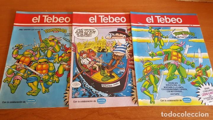 Cómics: EL TEBEO - EDITADO POR EL PERIÓDICO - AÑO 1991 / NUMS . 10 AL 19 / NUEVOS Y PERFECTOS. - Foto 3 - 201602451