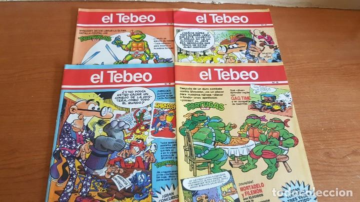 Cómics: EL TEBEO - EDITADO POR EL PERIÓDICO - AÑO 1991 / NUMS . 10 AL 19 / NUEVOS Y PERFECTOS. - Foto 4 - 201602451