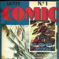 Fumetti: GENTE DE COMIC, COLECCIONABLE DE DIARIO 16 COMPLETO Y ENCUADERNADO. Lote 204807951