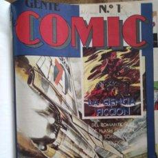 Cómics: GENTE DE COMIC, COLECCIONABLE DE DIARIO 16 COMPLETO Y ENCUADERNADO. Lote 205306422