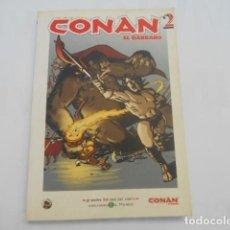 Cómics: CONAN EL BARBARO Nº2 GRANDES HEROES DEL COMIC EL MUNDO. Lote 205510677