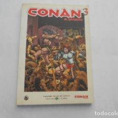 Cómics: CONAN EL BARBARO Nº 3-- GRANDES HEROES DEL COMIC EL MUNDO. Lote 205511577