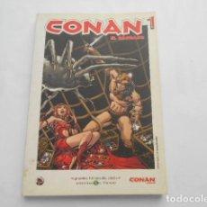 Cómics: CONAN EL BARBARO Nº 1-- GRANDES HEROES DEL COMIC EL MUNDO. Lote 205511688