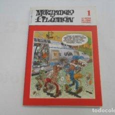 Cómics: MORTADELO Y FILEMON-LO MEJOR DEL COMIC ESPAÑOL Nº 1-- EL MUNDO. Lote 205512171