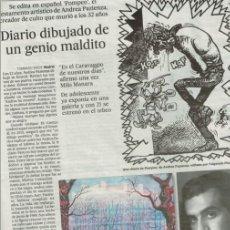 Cómics: TEBEOS Y COMICS EN LA PRENSA: FLASH GORDON, EL BUSCON EN LAS INDIAS, RESIDENCIA DE ESTUDIANTES ...... Lote 206285343
