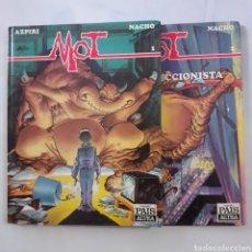 Cómics: MOT 1 Y 2. AZPIRI NACHO. PEQUEÑO PAÍS ALTEA.. Lote 207083768