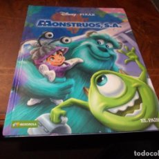 Fumetti: DISNEY PIXAR MONSTRUOS, S.A. IBERDROLA, EL PAÍS 2.010. Lote 207204597