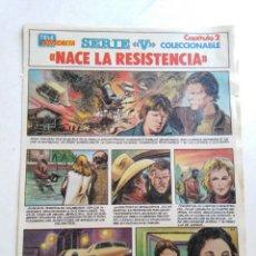 Cómics: LOTE DE 21 CAPÍTULOS SERIE V EN CÓMIC ( TELE INDISCRETA ). Lote 209112037