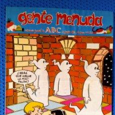 Cómics: ~ CÓMIC GENTE MENUDA ABC ZIPI Y ZAPE , NÚMERO 136, JUNIO 1992, PREGUNTE POR SUS FALTAS ~. Lote 212320831