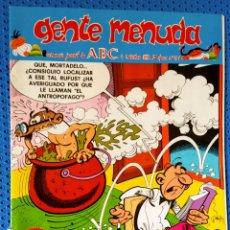 Cómics: ~ CÓMIC GENTE MENUDA ABC MORTADELO Y FILEMÓN , NÚMERO 51, NOVIEMBRE 1990, PREGUNTE POR SUS FALTAS ~. Lote 212635293