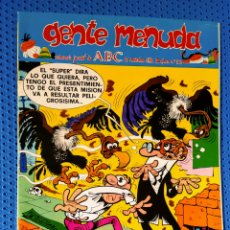 Cómics: ~ CÓMIC GENTE MENUDA ABC MORTADELO Y FILEMÓN , NÚMERO 52, NOVIEMBRE 1990, PREGUNTE POR SUS FALTAS ~. Lote 212635458