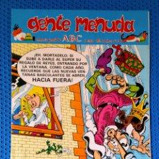 Cómics: ~ CÓMIC GENTE MENUDA ABC MORTADELO Y FILEMÓN , NÚMERO 60, ENERO 1991, PREGUNTE POR SUS FALTAS ~. Lote 212645088