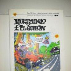 Cómics: MORTADELO Y FILEMON (LAS MEJORES HISTORIETAS DEL COMIC ESPAÑOL #4) (BIBLIOTECA EL MUNDO). Lote 212841591