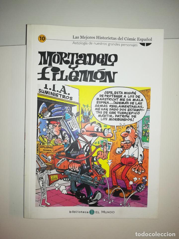 MORTADELO Y FILEMON (LAS MEJORES HISTORIETAS DEL COMIC ESPAÑOL #10) (BIBLIOTECA EL MUNDO) (Tebeos y Comics - Suplementos de Prensa)