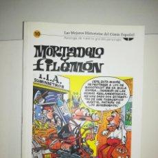 Cómics: MORTADELO Y FILEMON (LAS MEJORES HISTORIETAS DEL COMIC ESPAÑOL #10) (BIBLIOTECA EL MUNDO). Lote 212841607