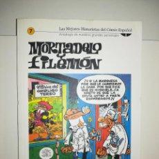 Cómics: MORTADELO Y FILEMON (LAS MEJORES HISTORIETAS DEL COMIC ESPAÑOL #7) (BIBLIOTECA EL MUNDO). Lote 212841628