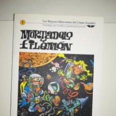 Cómics: MORTADELO Y FILEMON (LAS MEJORES HISTORIETAS DEL COMIC ESPAÑOL #1) (BIBLIOTECA EL MUNDO). Lote 212841701