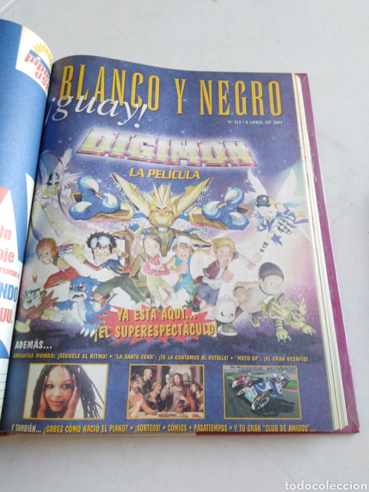 Cómics: Lote de 39 revistas blanco y negro guay ( 2000-2001 ) - Foto 32 - 212996473