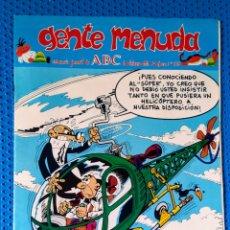 Cómics: ~ CÓMIC GENTE MENUDA ABC MORTADELO Y FILEMÓN , NÚMERO 65, FEBRERO 1991, PREGUNTE POR SUS FALTAS ~. Lote 213122600