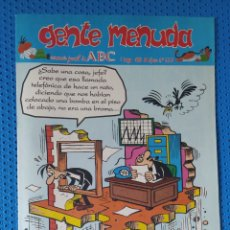 Cómics: ~ CÓMIC GENTE MENUDA ABC ANACLETO , NÚMERO 233, MAYO 1994, PREGUNTE POR SUS FALTAS ~. Lote 213123042