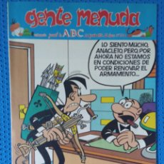 Cómics: ~ CÓMIC GENTE MENUDA ABC ANACLETO , NÚMERO 241, JUNIO 1994, PREGUNTE POR SUS FALTAS ~. Lote 213123100