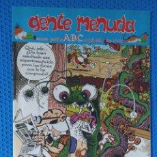 Cómics: ~ CÓMIC GENTE MENUDA ABC MORTADELO Y FILEMÓN, NÚMERO 245, JULIO 1994, PREGUNTE POR SUS FALTAS ~. Lote 213123128