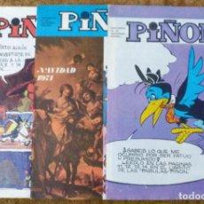 Cómics: PIÑON Nº 19, 30 Y 34 (MAGISTERIO ESPAÑOL 1971/72) 3 EJEMPLARES.. Lote 198156090