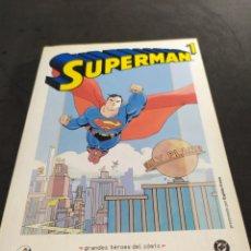 Cómics: SUPERMAN NÚMERO 1 GRANDES HEROES DEL CÓMIC BIBLIOTECA EL MUNDO. Lote 213781317