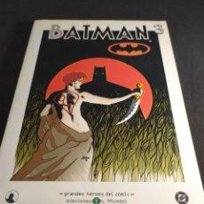 Cómics: BATMAN GRANDES HEROES DEL CÓMIC BIBLIOTECA EL MUNDO. Lote 213782316