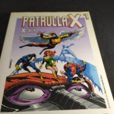 Cómics: PATRULLA X NÚMERO 1 GRANDES HEROES DEL COMIC BIBLIOTECA EL MUNDO. Lote 213782716