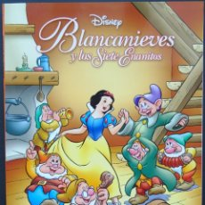 Cómics: BLANCANIEVES Y LOS SIETE ENANITOS – DISNEY – BIBLIOTECA INFANTIL EL MUNDO. Lote 215303276