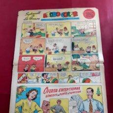 Cómics: SUPLEMENTO DE LA PRENSA Nº 3 - AÑO 1952.GRAN FORMATO-39 X 69 CMS- CURIOSO-LEER DESCRIPCION. Lote 218314653