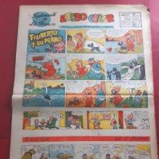 Cómics: SUPLEMENTO DE LA PRENSA Nº 17 AÑO 1953-GRAN FORMATO DESPLEGADO-39 X 69 CMS. Lote 218412353