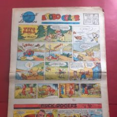 Cómics: SUPLEMENTO DE LA PRENSA Nº 20 AÑO 1953-GRAN FORMATO DESPLEGADO-39 X 69 CMS. Lote 218412440