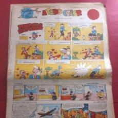 Fumetti: SUPLEMENTO DE LA PRENSA Nº 26 AÑO 1953 -GRAN FORMATO DESPLEGADO-39 X 69 CMS. Lote 218412788