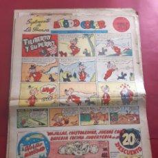 Cómics: SUPLEMENTO DE LA PRENSA Nº 4 AÑO 1952 -GRAN FORMATO DESPLEGADO-39 X 69 CMS. Lote 218412918