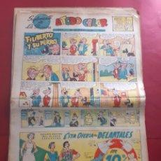 Fumetti: SUPLEMENTO DE LA PRENSA Nº 14 AÑO 1953 -GRAN FORMATO DESPLEGADO-39 X 69 CMS. Lote 218413013