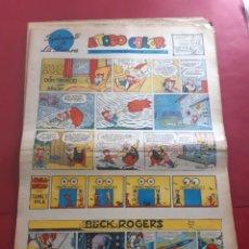 Cómics: SUPLEMENTO DE LA PRENSA Nº 22 AÑO 1953 -GRAN FORMATO DESPLEGADO-39 X 69 CMS. Lote 218413718
