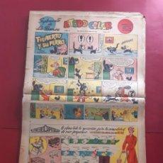 Cómics: SUPLEMENTO DE LA PRENSA Nº 10 AÑO 1953 -GRAN FORMATO DESPLEGADO-39 X 69 CMS. Lote 218413983