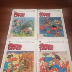 Cómics: 4 SUPERLÓPEZ EL MUNDO 3 18 24 29 JAN SUPER LOPEZ. Lote 218667062