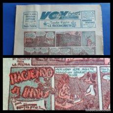 Cómics: VOY SUPLEMENTO DE LA MAÑANA-1955-CONTIENE ¨ HACIENDO EL INDIO ´´PRIMER GRAN EXITO DE F.IBAÑEZ. Lote 218813652
